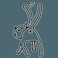 落描きにゃんこ(猫・ねこ・ぬこ・Cat)