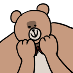 親切な熊さん