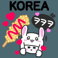 韓国語・日本語つき・ハングル・スタンプ♡