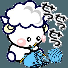 可愛い羊のメモ