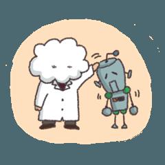 虚弱ロボットと浮雲博士