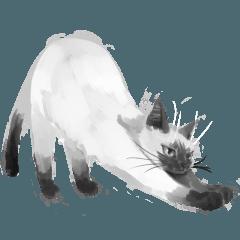 リアルっぽい猫