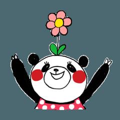 [LINEスタンプ] エブリデイぱんだちゃん (1)
