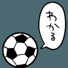 しゃべるサッカーボール