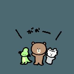 ぬいぐるみの日常 3