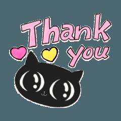 黒猫のクロ(1)