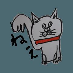 下杉正子ー猫スタンプ