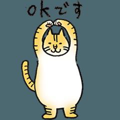 ぽっちゃり猫・トラちゃんの敬語