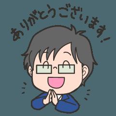 みっくんスタンプ(敬語)