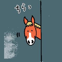 馬好きさんのスタンプ