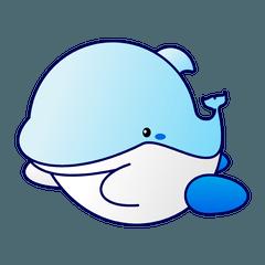 ひと型イルカ 「アクリ」2