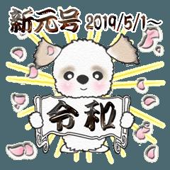 シーズー犬【令和】