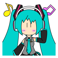 kou(2107)のSD初音ミクスタンプ