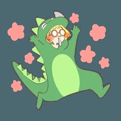 愉快なひと(恐竜ver.)