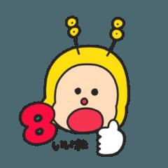 AKB48チーム8 エイトくんスタンプ第2弾