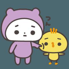 うちの子(紫の子)