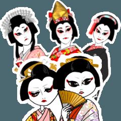 歌舞伎ネタで女子トーク