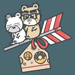 Bagel the Bear 四季