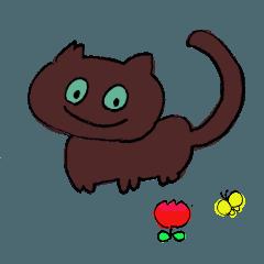 野良猫好きのゆるいスタンプ