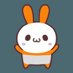 うさぱんだ(オレンジ)Ver.1