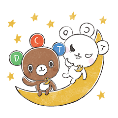 [LINEスタンプ] ドリクマ&ワルクマ 3 (1)