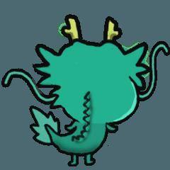 [LINEスタンプ] りゅうのたっくんアニメーション (1)