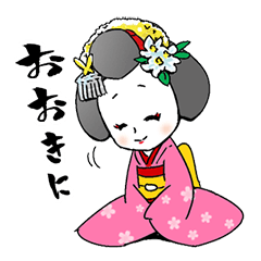 京都 先斗町の舞妓ちゃん