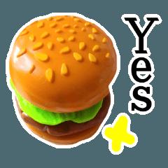 【荒ぶる】ハンバーガー