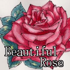 美しい薔薇 日本語&英語 日常会話