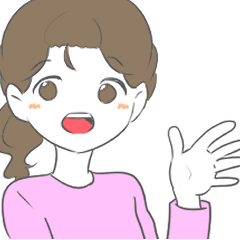 韓国語を勉強している人のためのスタンプ