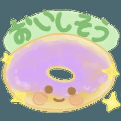 和菓子と洋菓子キャラ