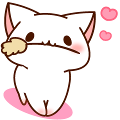 [LINEスタンプ] だいすきネコちゃん6 (1)