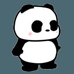 軽い挨拶パンダの銀ちゃん3