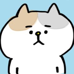 [LINEスタンプ] 【どよ〜んなネコ】 (1)