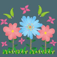お花をみんなにお送りします