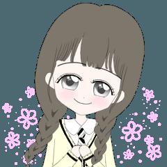 Schoolgirls x kawaii_日本