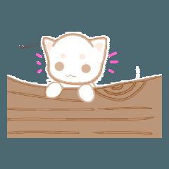 ゆるっと白猫さん