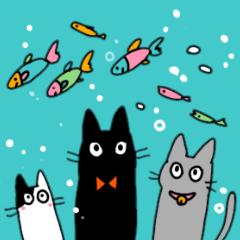 やさしい猫たち
