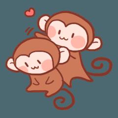 元気な猿さん