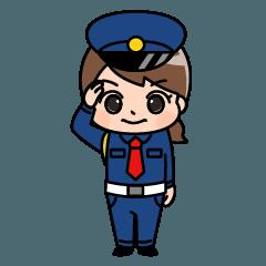 警備員のトモミちゃん4