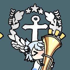 アズールレーンアニメションスタンプVol.2