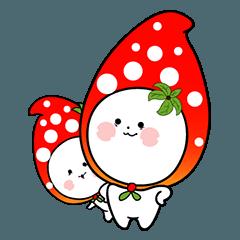 strawberry sticker(no text version)