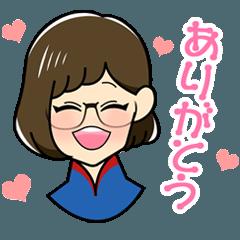 隣のメガネちゃん vol.1