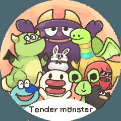 Tender monsterスタンプ