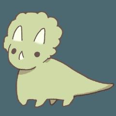 ゆるい恐竜さん