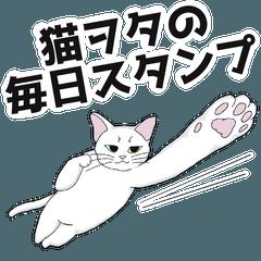 猫ヲタのための毎日スタンプ