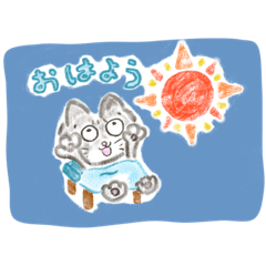 えんぴつにこの猫日和(*´꒳`*)