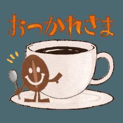コーヒー豆のにこまめくん