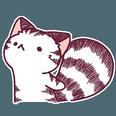 Ato's めりネコさん5-白縞ネコ【ato10396】