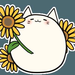 まるいにゃんこ ~夏~